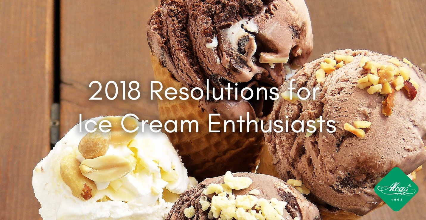 2018 Resolutions for  Ice Cream Enthusiasts