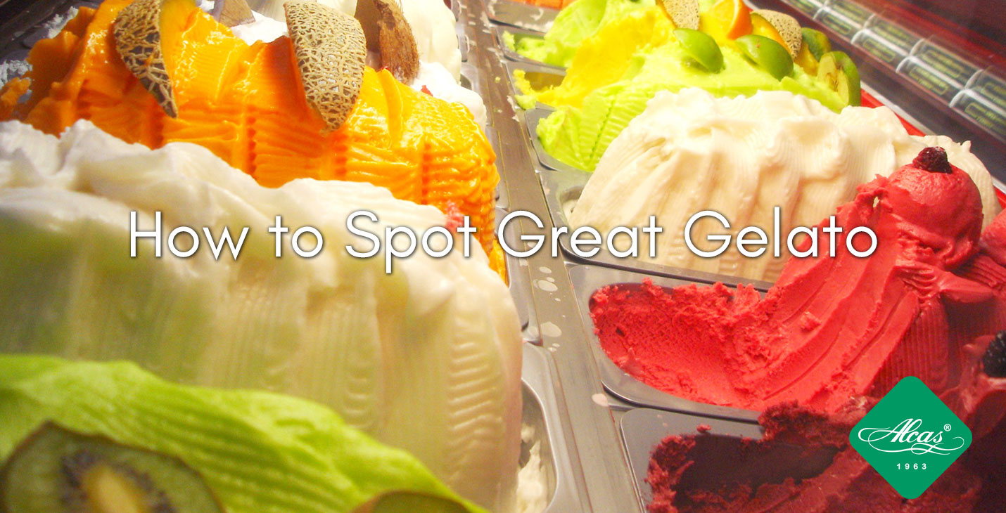 how to spot great gelato