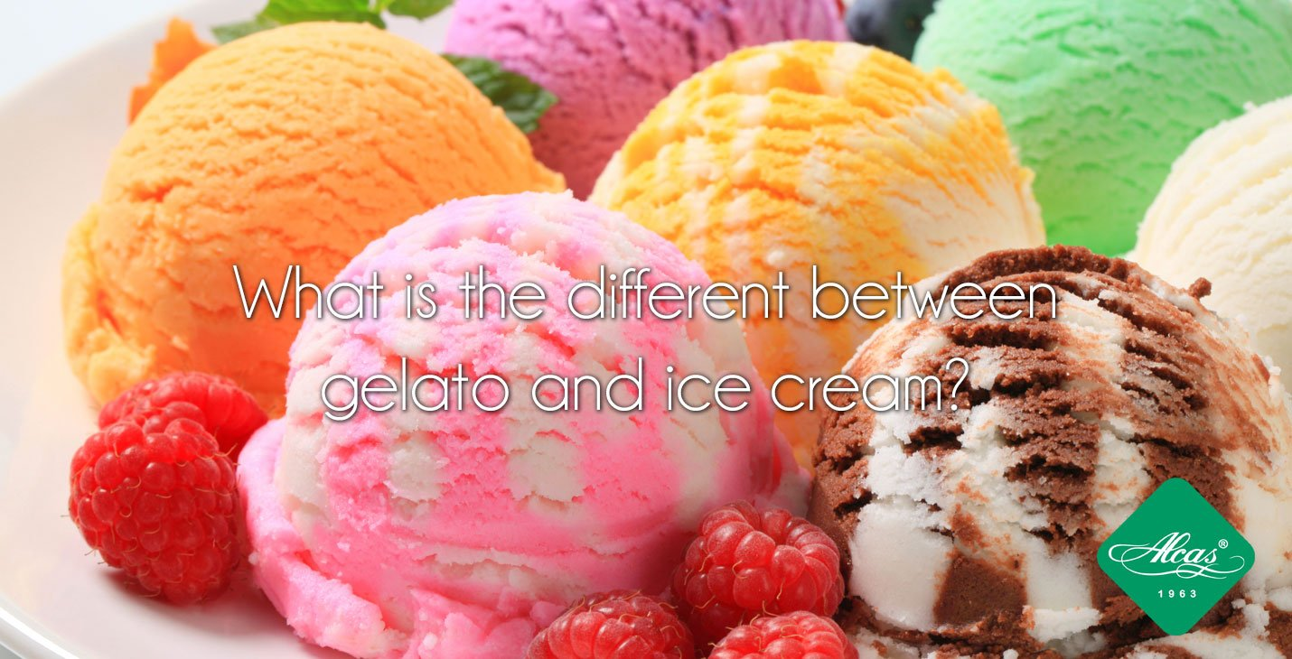 what is the difference between gelato and ice cream