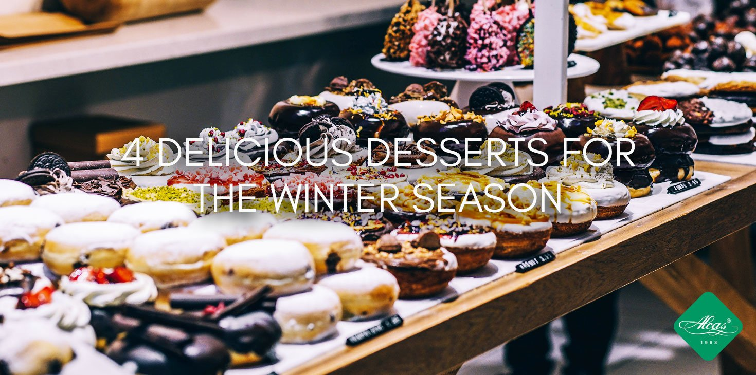 4 DELICIOUS DESSERTS FOR THE WINTER SEASON