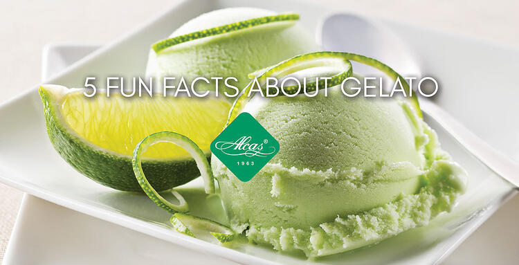 5 FUN FACTS ABOUT GELATO