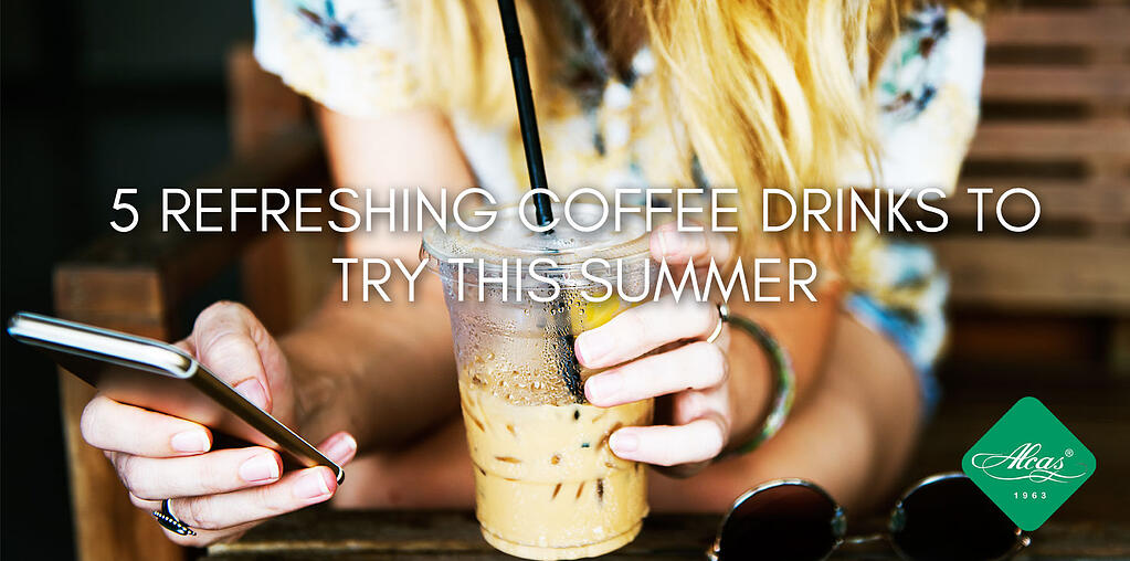 5 REFRESHING COFFEE DRINKS TO TRY THIS SUMMER