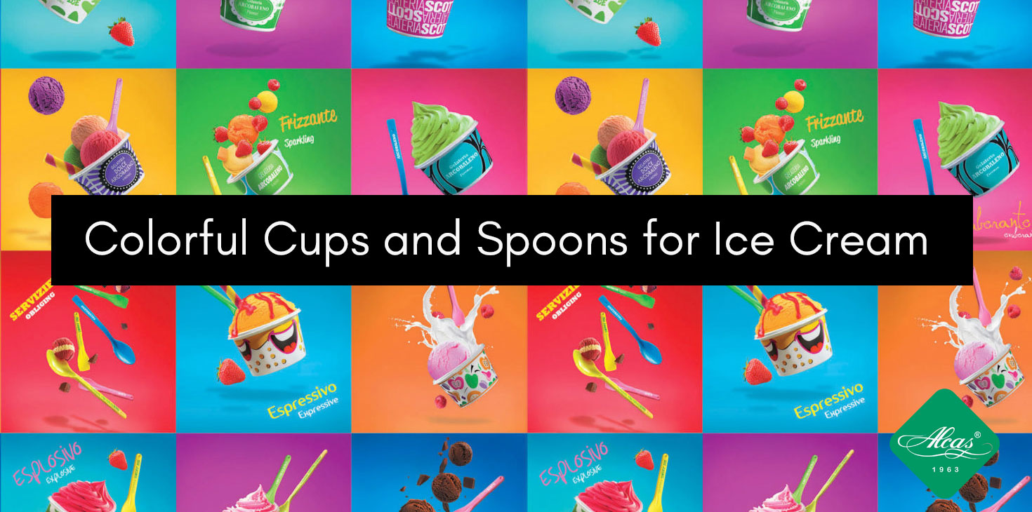 COLORFUL-CUPS-AND-SPOONS-FOR-ICE-CREAM