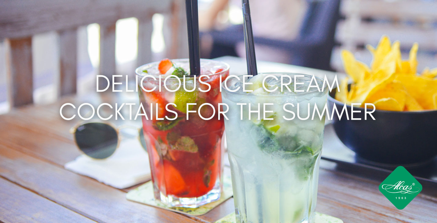 DELICIOUS ICE CREAM  COCKTAILS FOR THE SUMMER