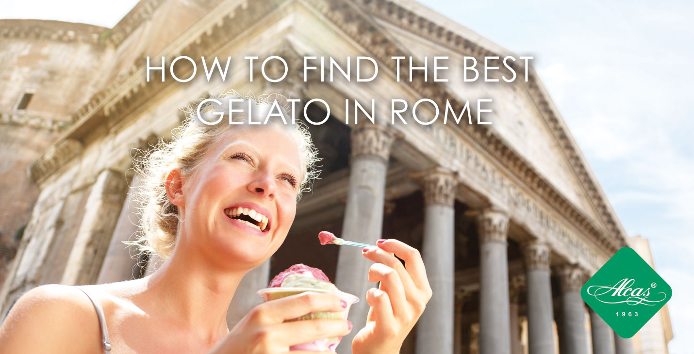 HOW TO FIND THE BEST GELATO IN ROME