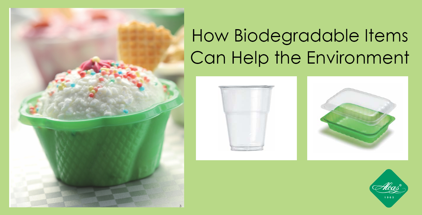 HOW BIODEGRADABLE PRODUCTS CAN HELP THE ENVIRONMENT