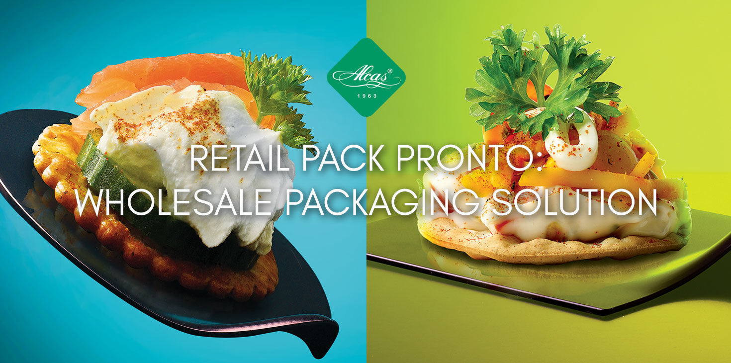 RETAIL PACK PRONTO: WHOLESALE PACKAGING SOLUTION