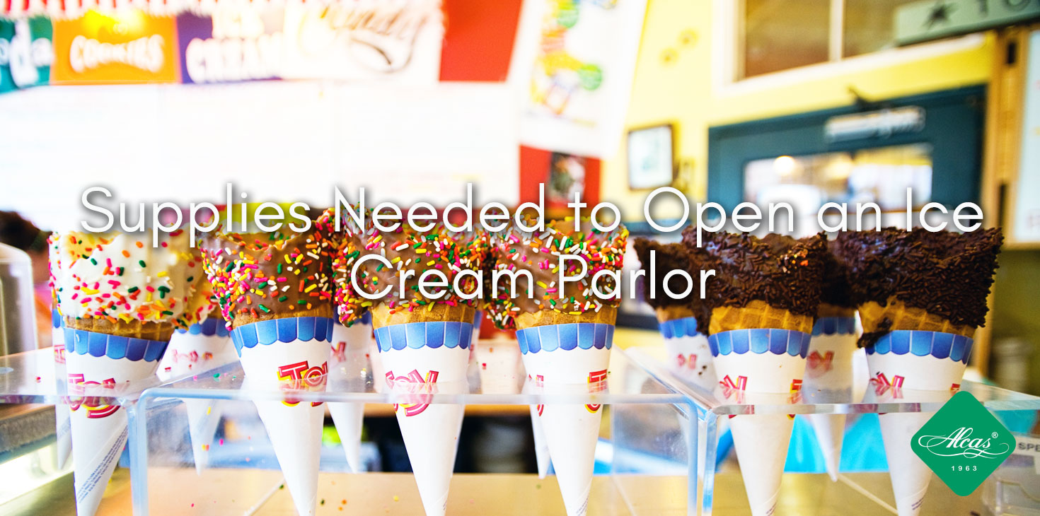 Supplies Needed to Open an Ice Cream Parlor