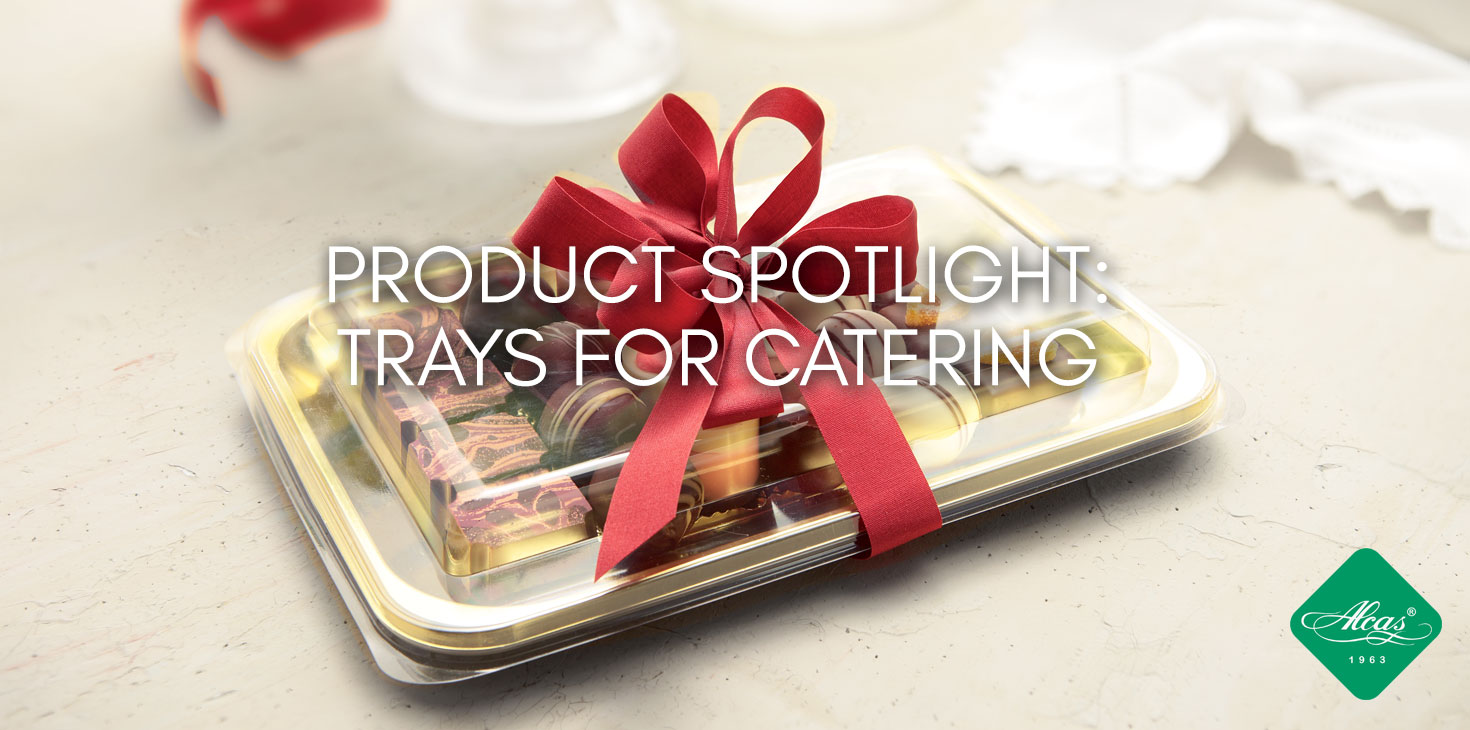 TRAYS FOR CATERING
