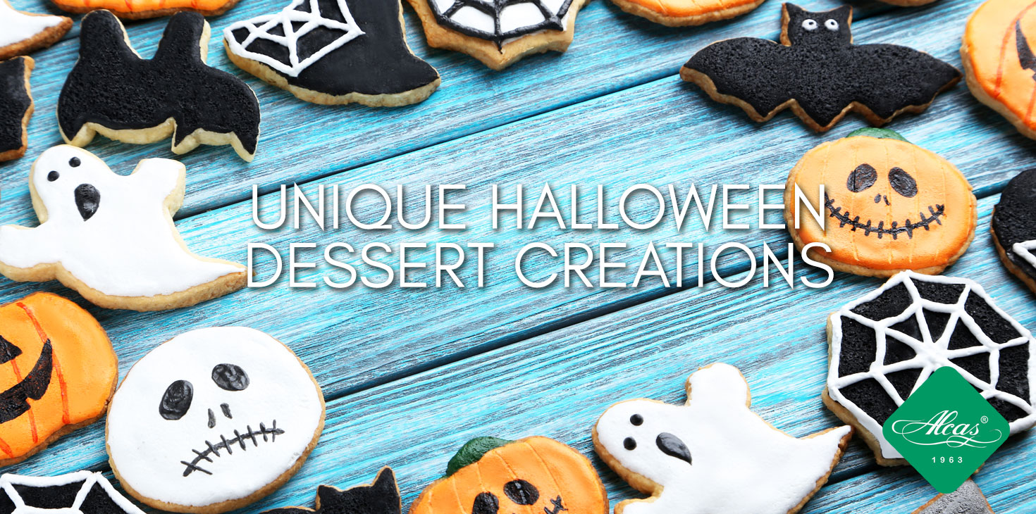 UNIQUE HALLOWEEN DESSERT CREATIONS
