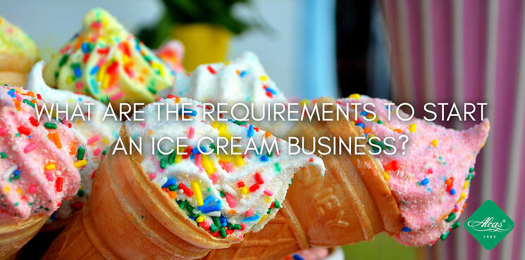 WHAT ARE THE REQUIREMENTS TO START AN ICE CREAM BUSINESS?
