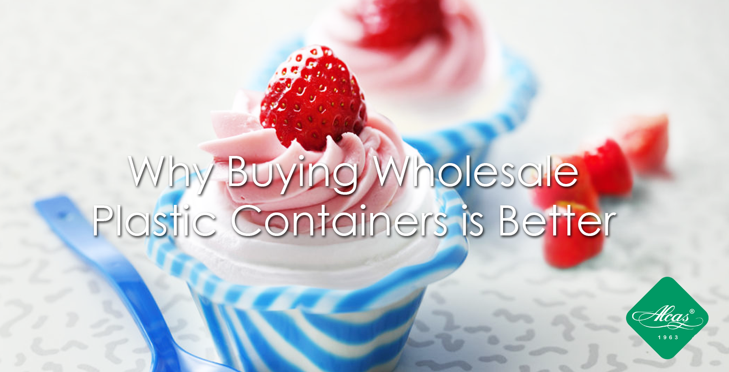 Why Buying Wholesale Plastic Containers is Better