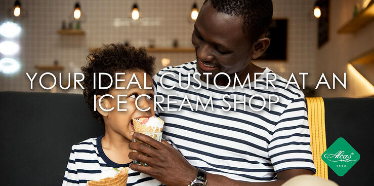 YOUR IDEAL CUSTOMER AT AN ICE CREAM SHOP